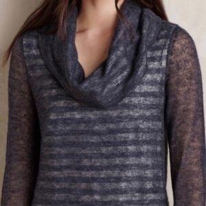 🆕Anthropologie MOTH Cowl Neck Wool Alpaca Sweater